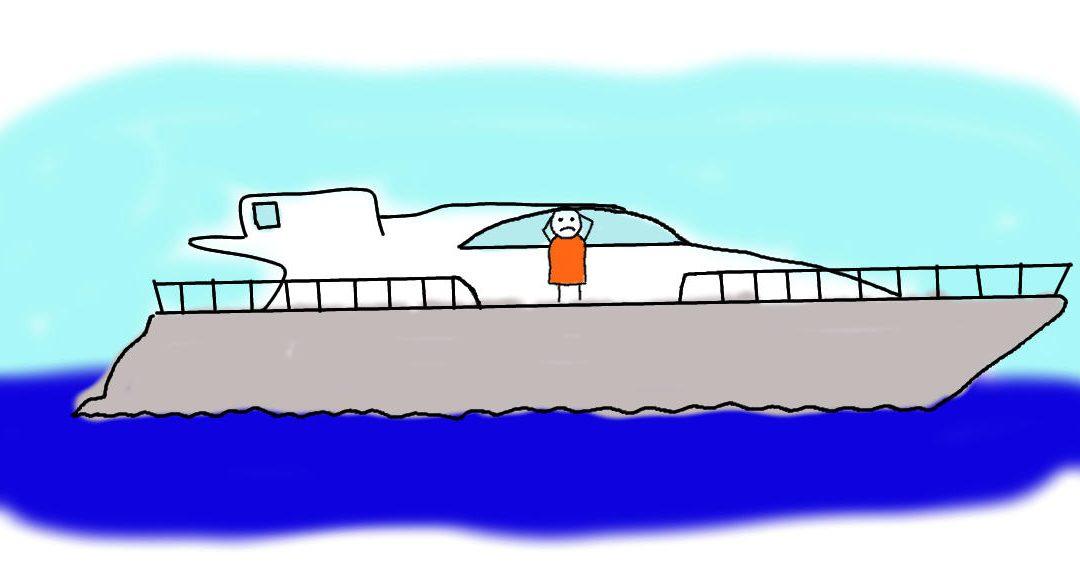 Der arme Yacht-Besitzer