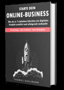 Starte jetzt dein Online-Business Cover
